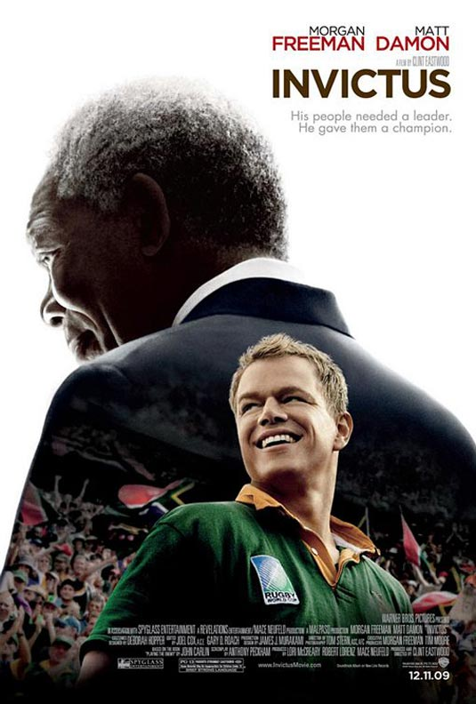 Jason Bourne plays Rugby with Nelson Mandela.