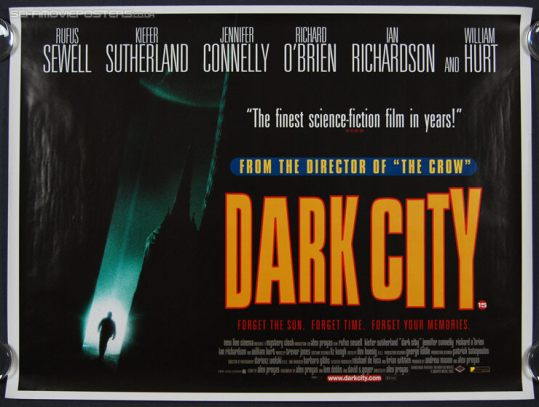 Image result for dark city poster