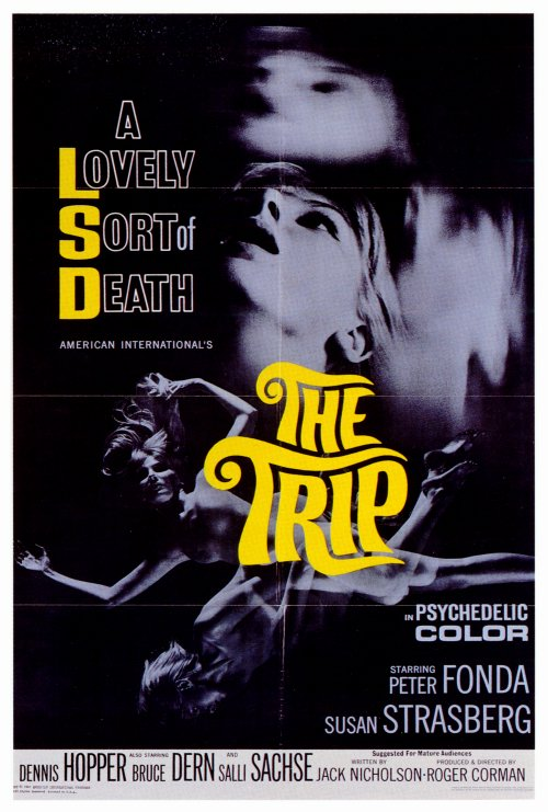 Image result for the trip 1967 poster