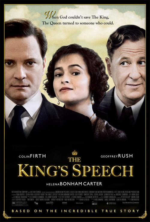 Bad King's Speech Poster